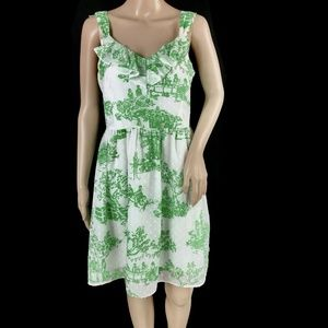 Lilly Pulitzer Garden Party Print Dress